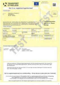 Registreringsbevis skrota bilen göteborg